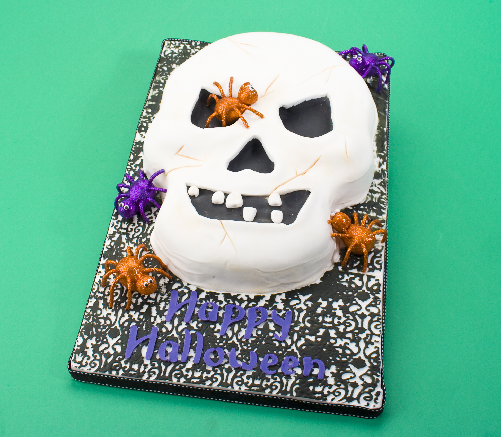 I Went As A Spooky Scary Skeleton Cake! (It's My Cake Day