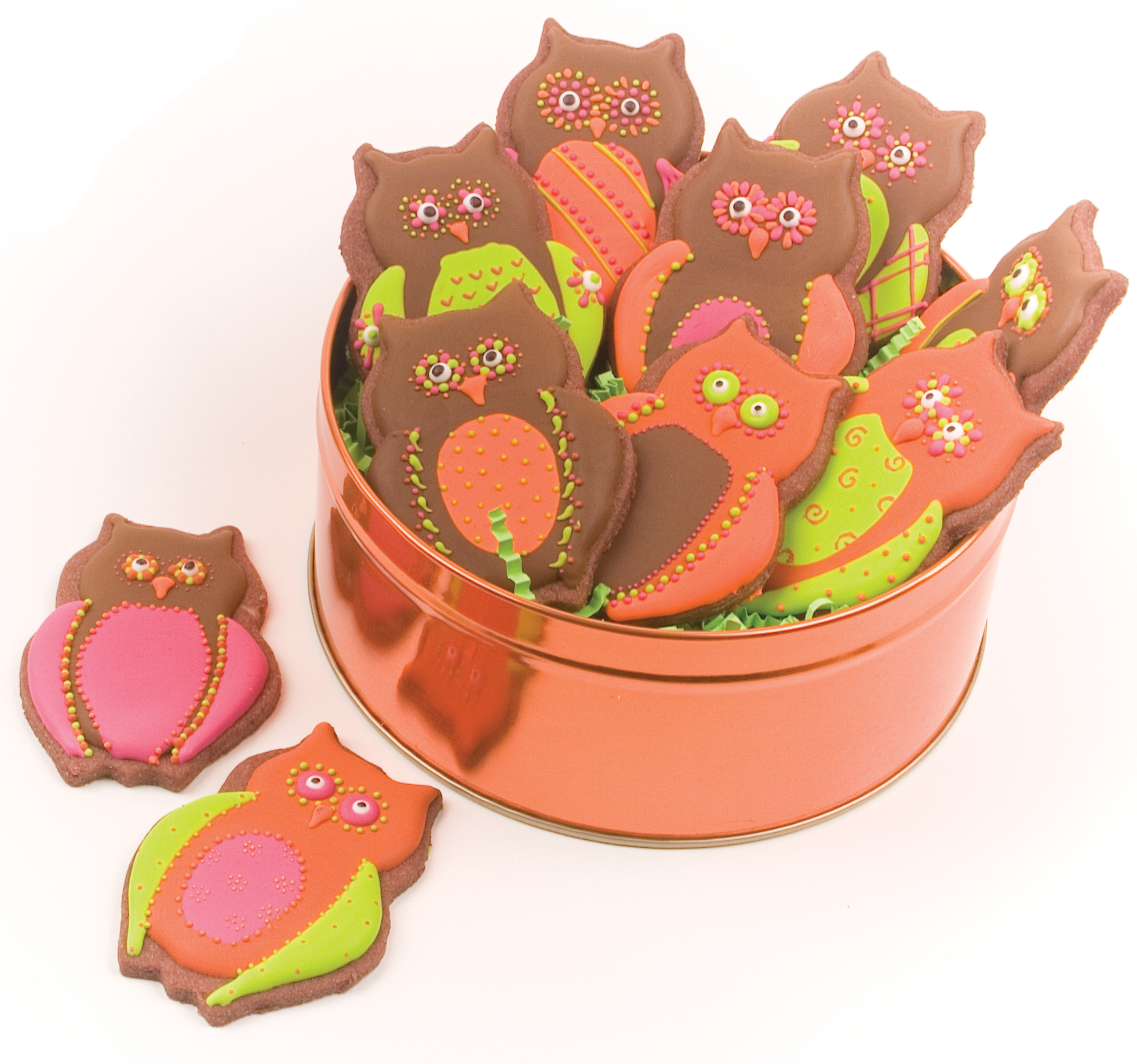 Owl Decorated Cookies Sugar Cookie Autumn Carpenters Weblog