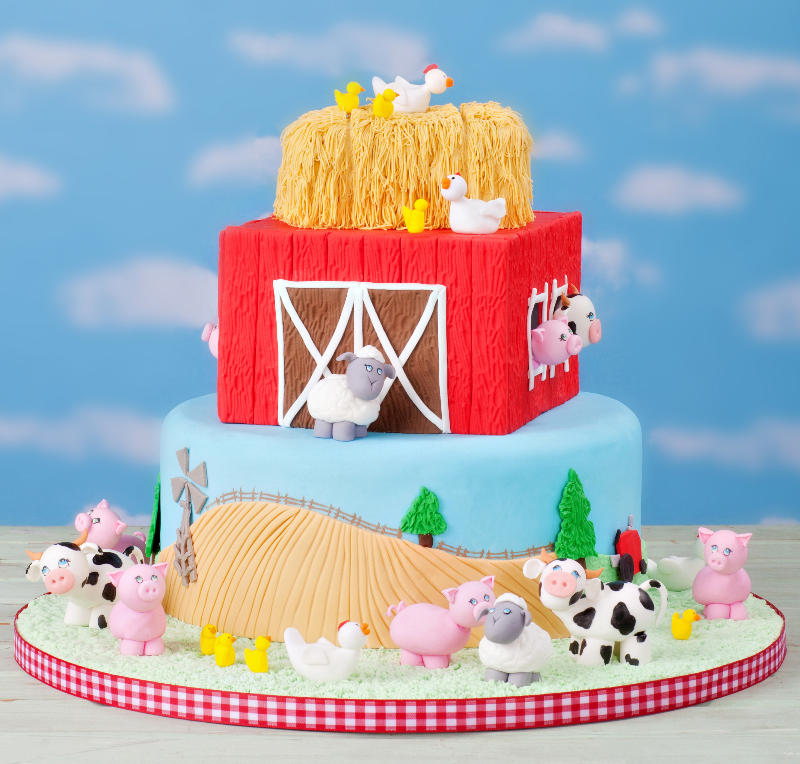 Barnyard Farm Birthday Party Theme