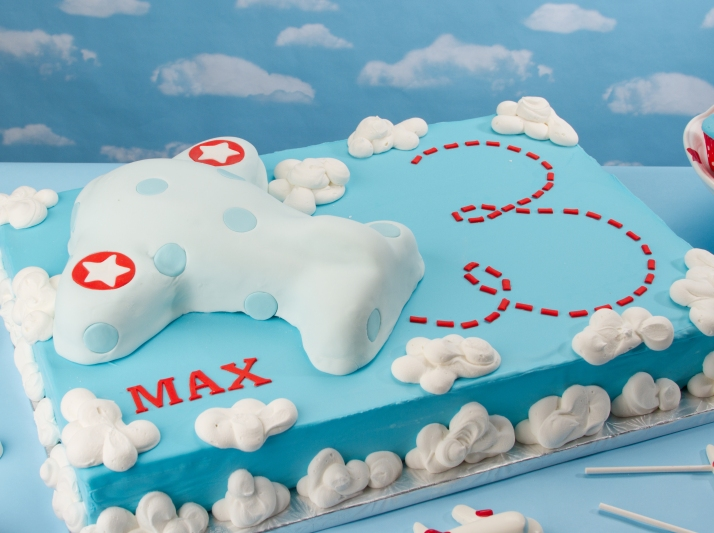 Airplane Sheet Cake