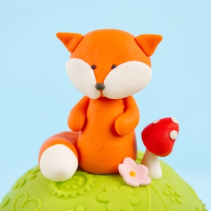 Hand Molded Woodland Fox
